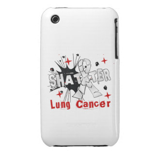 Shatter Lung Cancer iPhone 3 Case-Mate Case
