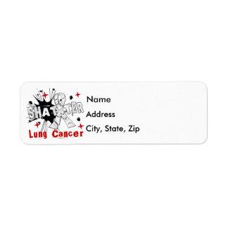 Shatter Lung Cancer Label
