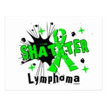 Shatter Lymphoma Postcard
