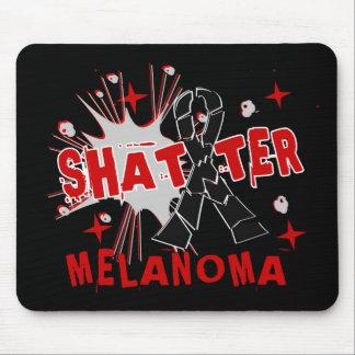 Shatter Melanoma Mouse Pads