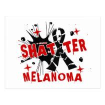 Shatter Melanoma Postcard