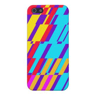 Shatter Multicolor Purple iPhone 4 Case