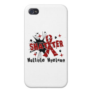Shatter Multiple Myeloma iPhone 4 Cases