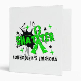 Shatter Non-Hodgkin s Lymphoma 3 Ring Binders