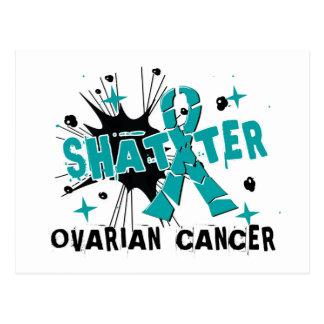 Shatter Ovarian Cancer Postcard