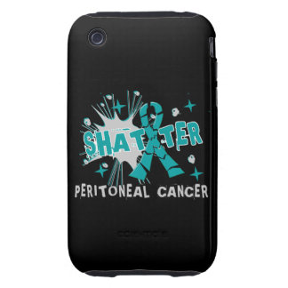 Shatter Peritoneal Cancer iPhone 3 Tough Case