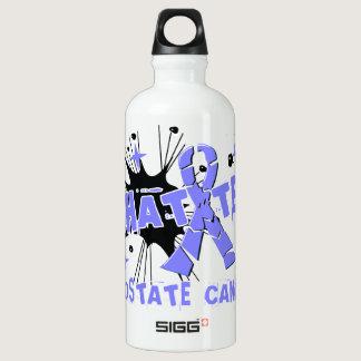 Shatter Prostate Cancer Aluminum Water Bottle