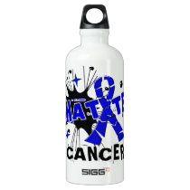 Shatter Rectal Cancer Aluminum Water Bottle