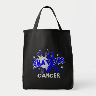 Shatter Rectal Cancer Canvas Bags