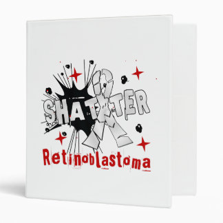 Shatter Retinoblastoma 3 Ring Binders