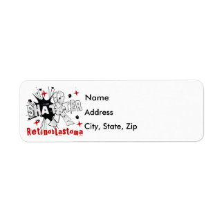 Shatter Retinoblastoma Label