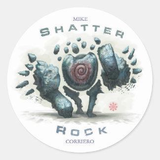 Shatter Rock Sticker