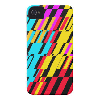 Shatter Stripe Color iPhone 4 ID Case