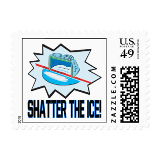 Shatter The Ice Postage