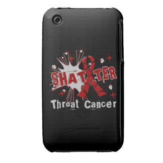 Shatter Throat Cancer Case-Mate iPhone 3 Cases
