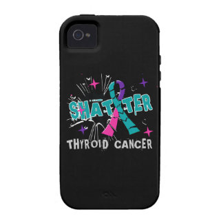 Shatter Thyroid Cancer Case-Mate iPhone 4 Cover