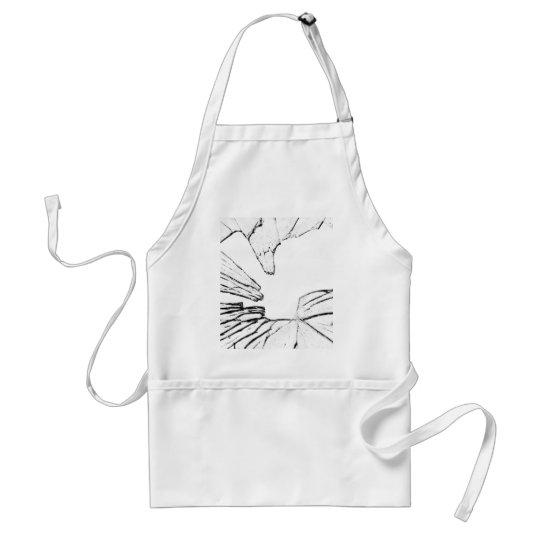 shattered adult apron
