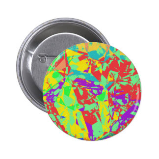 SHATTERED PINBACK BUTTONS