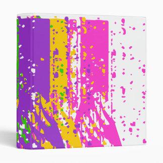 Shattered Colors Vinyl Binders