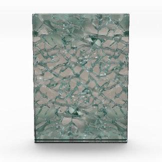 Shattered Glass Background Acrylic Award