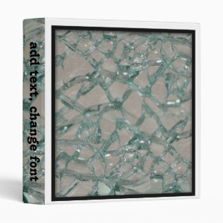 Shattered Glass Background Binders