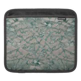 Shattered Glass Background (Faux) iPad Sleeves