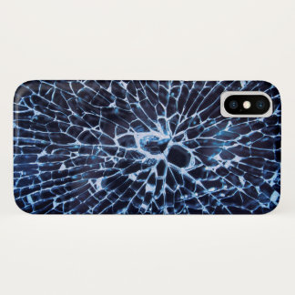 Shattered Glass iPhone X Case