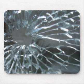 Shattered Glass Mousemat Mouse Pad