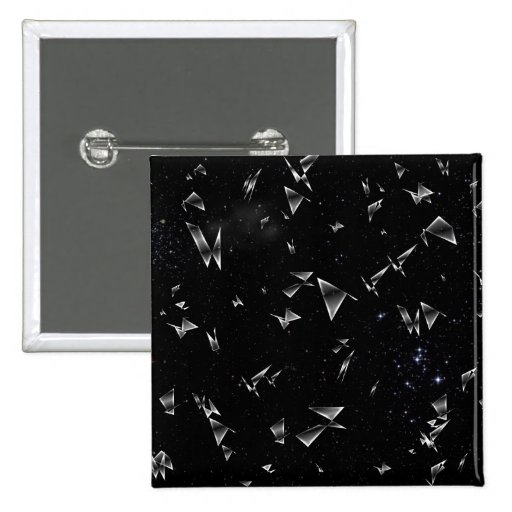 Shattered Glass Pin