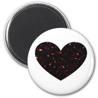 Shattered Heart Magnet
