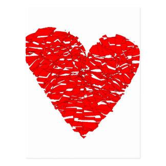 Shattered Heart Postcard