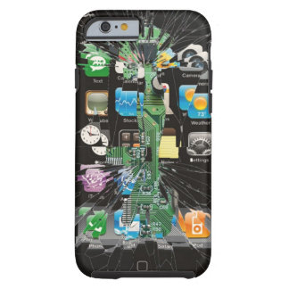 Shattered iPhone 6 ver. 2 Tough iPhone 6 Case