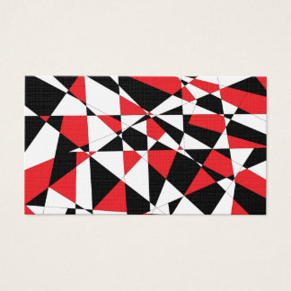 Shattered Life Tricolor Business Card