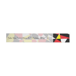 Shattered Life with Rays of Hope Wrap Around Address Label