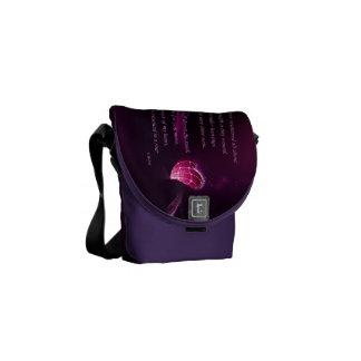 Shattered Love Messenger Bag