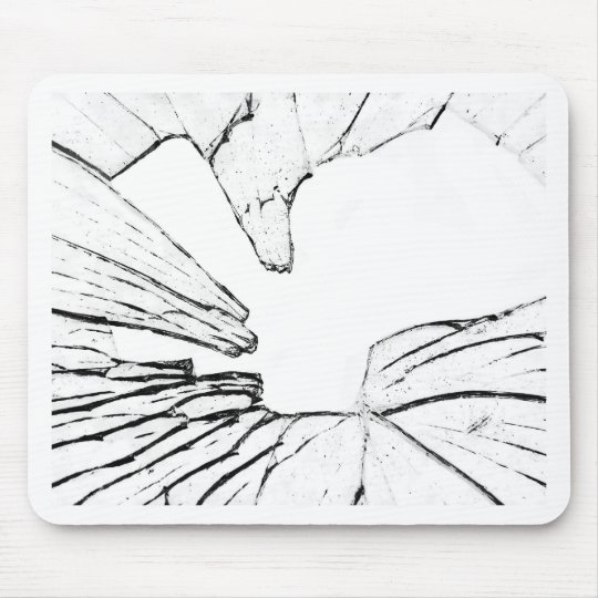 shattered mouse pad