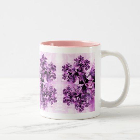 Shattered Nightfall Two-Tone Coffee Mug