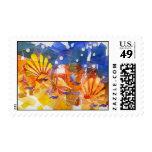 Shattered Ocean Postage Stamp