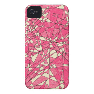 Shattered Pink iPhone Case