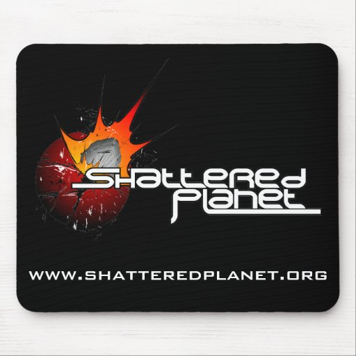 Shattered Planet Mousepad
