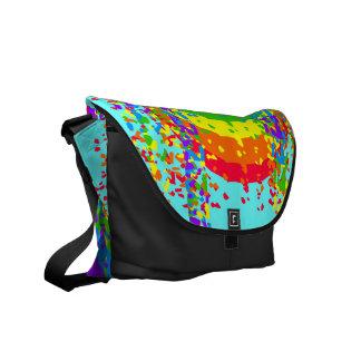 Shattered Rainbow Messenger Bag
