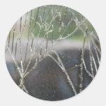 Shattered Round Sticker