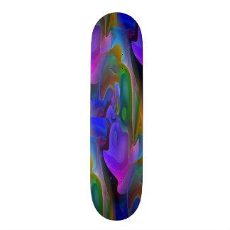 Shattered Skateboard