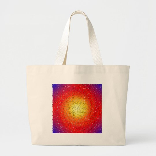 Shattered Star Large Tote Bag