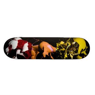 Shattering Light Bulbs Skateboard Deck