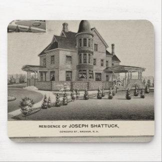 Shattuck residence, McLane Mills Mouse Pad
