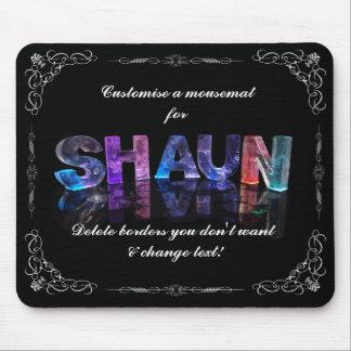 Shaun - el Shaun conocido en 3D se enciende (la Mouse Pad