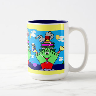 Shaun la taza de los niños de la nave