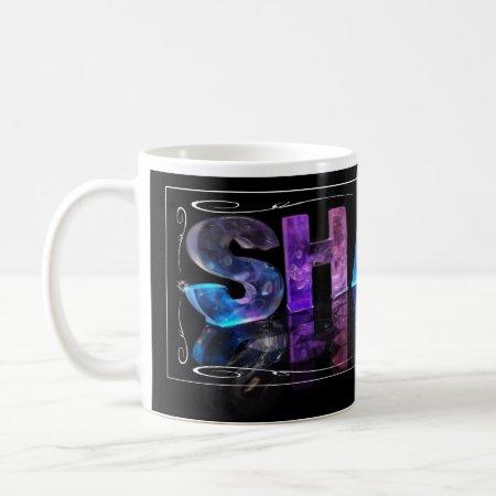 Shaun - The Name Shaun in 3D Lights (Photograph) Coffee Mugs