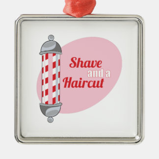 Shave and a Haircut Ornament